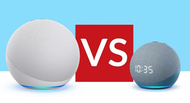 Amazon Echo vs Echo Dot